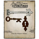 Sizzix - Tim Holtz - Alterations Collection - Bigz Die - Hardware Findings
