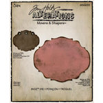 Sizzix - Tim Holtz - Alterations Collection - Movers and Shapers Die - Baroque