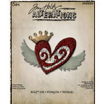 Sizzix - Tim Holtz - Alterations Collection - Bigz Die - Heart Wings