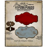Sizzix - Tim Holtz - Alterations Collection - Movers and Shapers Die - Styled Labels
