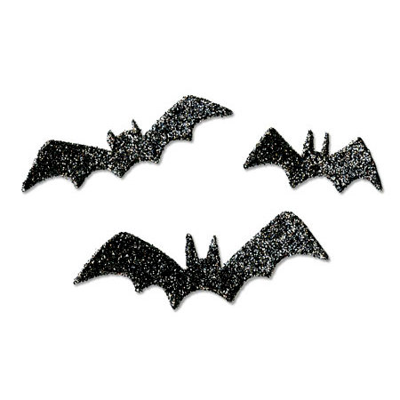 Sizzix - Originals Die - Halloween Collection - Die Cutting Template - Medium - Bats 3