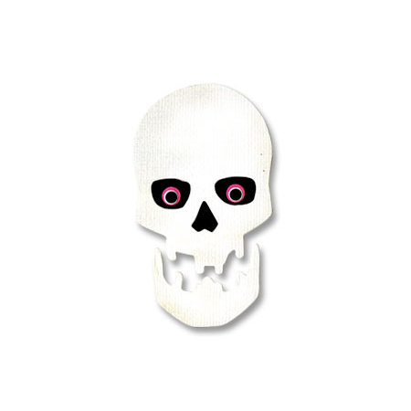 Sizzix - Originals Die - Halloween Collection - Die Cutting Template - Medium - Skull