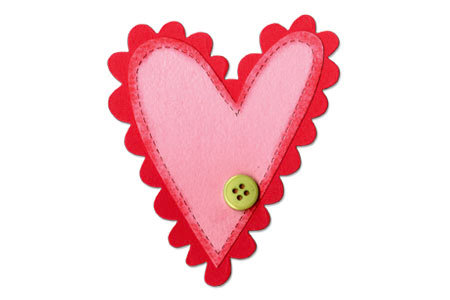 Sizzix - Valentine Collection - Bigz Die - Heart Layers