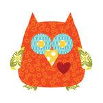 Sizzix - Fabi - Bigz Die - Quilting - Owl 2