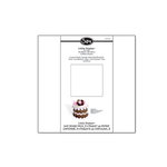 Sizzix - Little Sizzles - 12 x 12 Mat Board Pack, 3 White Sheets