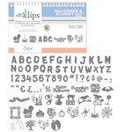 Sizzix - EClips - Electronic Shape Cutting System - Cartridge - Halloween and Scaredy Cat Alphabet