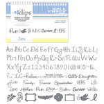 Sizzix - EClips - Electronic Shape Cutting System - Cartridge - Hope and Strength Alphabet