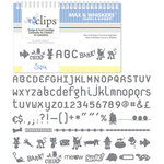 Sizzix - EClips - Electronic Shape Cutting System - Cartridge - Max and Whiskers, Shapes and Alphabet