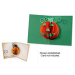 Sizzix - Bigz Die - Halloween Collection - Die Cutting Template - 3-D Pop Up - Pumpkin