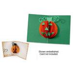 Sizzix - Bigz Die - Halloween Collection - Die Cutting Template - 3-D Pop Up - Pumpkin