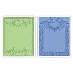 Sizzix - Textured Impressions - Embossing Folders - Ornate Frames Set