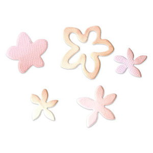 Sizzix - Originals Die - Jewelry - Medium - Flowers 4