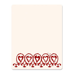 Sizzix - Ink-Its Collection - Letterpress Plate - Circle Hearts
