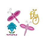 Sizzix - Stationery Collection - Sizzlits Die - Small - Dragonfly Set