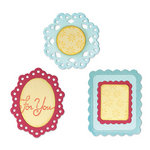 Sizzix - Country Foliage Collection - Sizzlits Die - Medium - Decorative Frames Set
