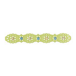 Sizzix - Country Foliage Collection - Sizzlits Decorative Strip Die - Lace Edging 2