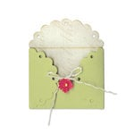 Sizzix - Country Foliage Collection - Bigz Die - Envelope, Scallop Lace