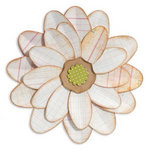 Sizzix - Fresh Vintage Collection - Bigz Die - Flower, Petal Power