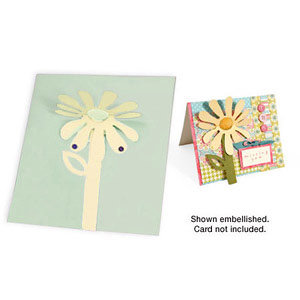 Sizzix - Party Essentials Collection - Bigz Die - 3-D Flip Up - Flower