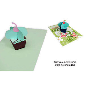 Sizzix - Party Essentials Collection - Bigz XL Die - Cupcake, 3-D