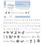 Sizzix - EClips - Electronic Shape Cutting System - Cartridge - Woodland Creatures and Deer Me Alphabet