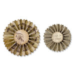 Sizzix - Tim Holtz - Alterations Collection - Sizzlits Decorative Strip Die - Mini Paper Rosettes