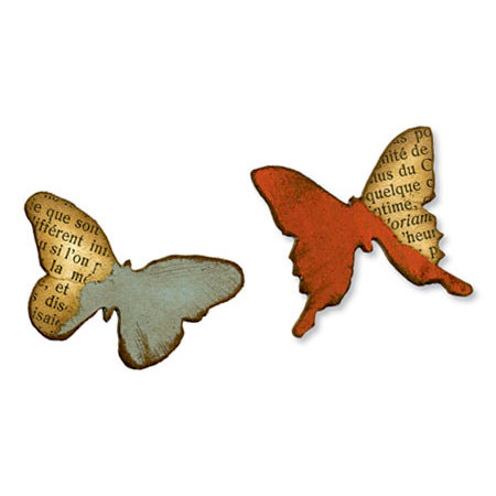 Sizzix - Tim Holtz - Alterations Collection - Movers and Shapers Die - Mini Butterflies Set