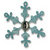 Sizzix - Basic Grey - Figgy Pudding Collection - Sizzlits Die - Christmas - Small - Snowflake 23