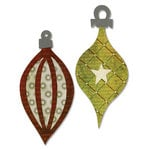 Sizzix - Basic Grey - Figgy Pudding Collection - Bigz Die - Ornaments 4