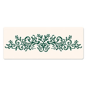 Sizzix - Ink-Its Collection - Letterpress Plate - Organic Flourish