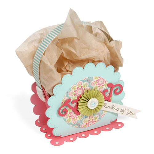Sizzix - Bigz Pro Die - Bag, Scallop Circle 2