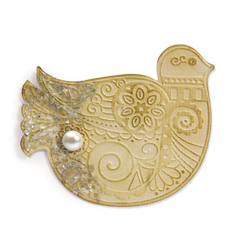 Sizzix - Bigz Die and Embossing Folder - Bird 2