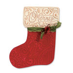 Sizzix - Bigz Die and Embossing Folder - Christmas - Stocking