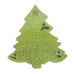 Sizzix - Bigz Die and Embossing Folder - Christmas - Tree, Christmas 2