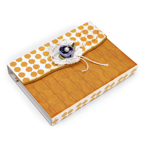 Sizzix - It's a Wrap Collection - ScoreBoards XL Die - Index Card Folder