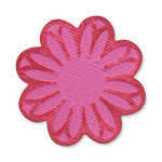 Sizzix - Vintage Valentine Collection - Embosslits Die - Small - Flower, Wildflower 2