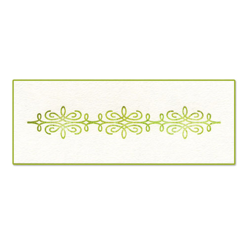 Sizzix - Ink-Its Collection - Letterpress Plate - Ornate Trellis