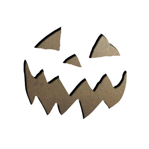 Sizzix - Tim Holtz - Alterations Collection - Movers and Shapers Die - Mini Scary Jack-o-Lantern Set
