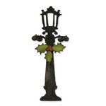 Sizzix - Tim Holtz - Alterations Collection - Bigz Die - Christmas - Holiday Lamppost