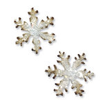 Sizzix - Tim Holtz - Alterations Collection - Movers and Shapers Die - Mini Snowflakes Set