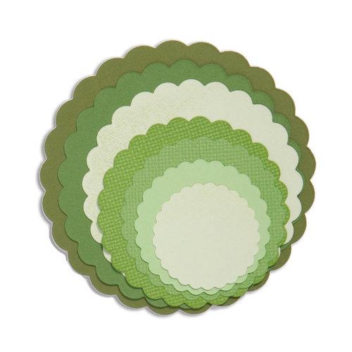 Sizzix - Framelits Die - Circles, Scallop Set