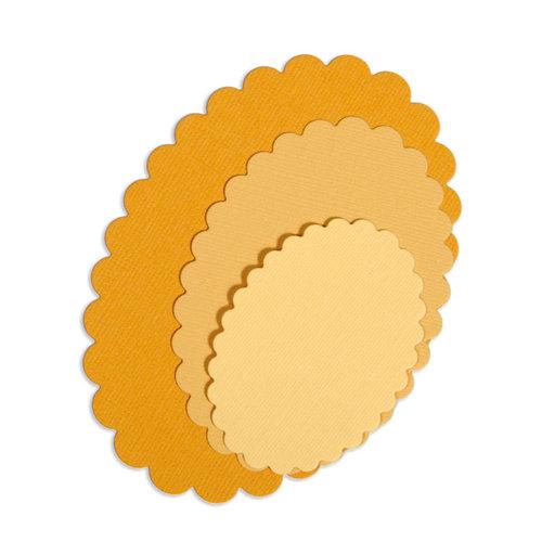 Sizzix - Framelits Die - Ovals, Scallop Set