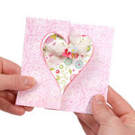 Sizzix - Movers and Shapers Die - Large - Card, Heart Flip-its
