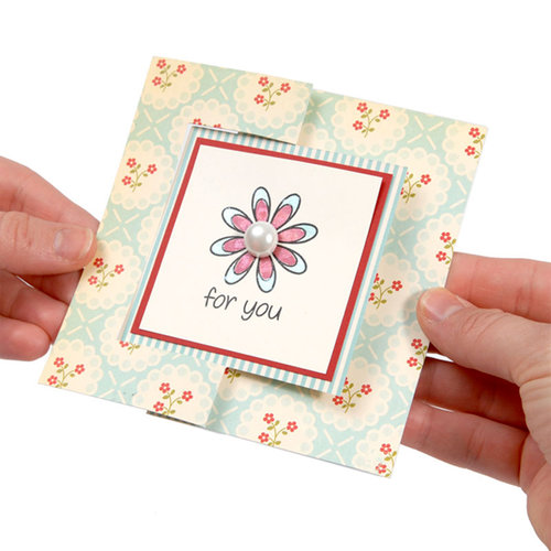 Sizzix - Movers and Shapers Die - Large - Card, Square Flip-its