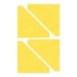 Sizzix - Bigz Die - Quilting - Half-Square Triangles, 2.5 Inch Finished Square