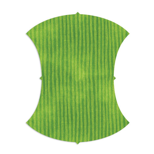 Sizzix - Bigz L Die - Quilting - Apple Core, 5.75 Inch Finished