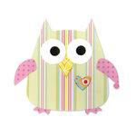 Sizzix - Happy Baby Collection - Bigz Die - Owl 2