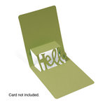 Sizzix - Pop 'n Cuts Die - 3-D Pop Up - Phrase, Hello