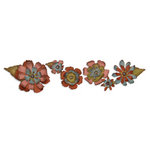 Sizzix - Tim Holtz - Alterations Collection - Sizzlits Decorative Strip Die - Tattered Flower Garland
