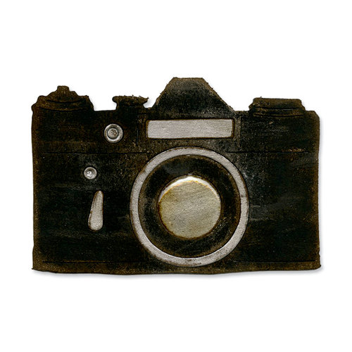 Sizzix - Tim Holtz - Alterations Collection - Bigz Die - Vintage Camera